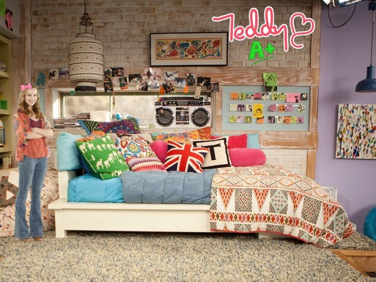 Good Luck Charlie Bedroom Kid S Spaces Pinterest Awesome Teddy Duncan And Except