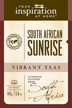 South African roobois tea is like a red-orange sunrise in a cup! $28.95