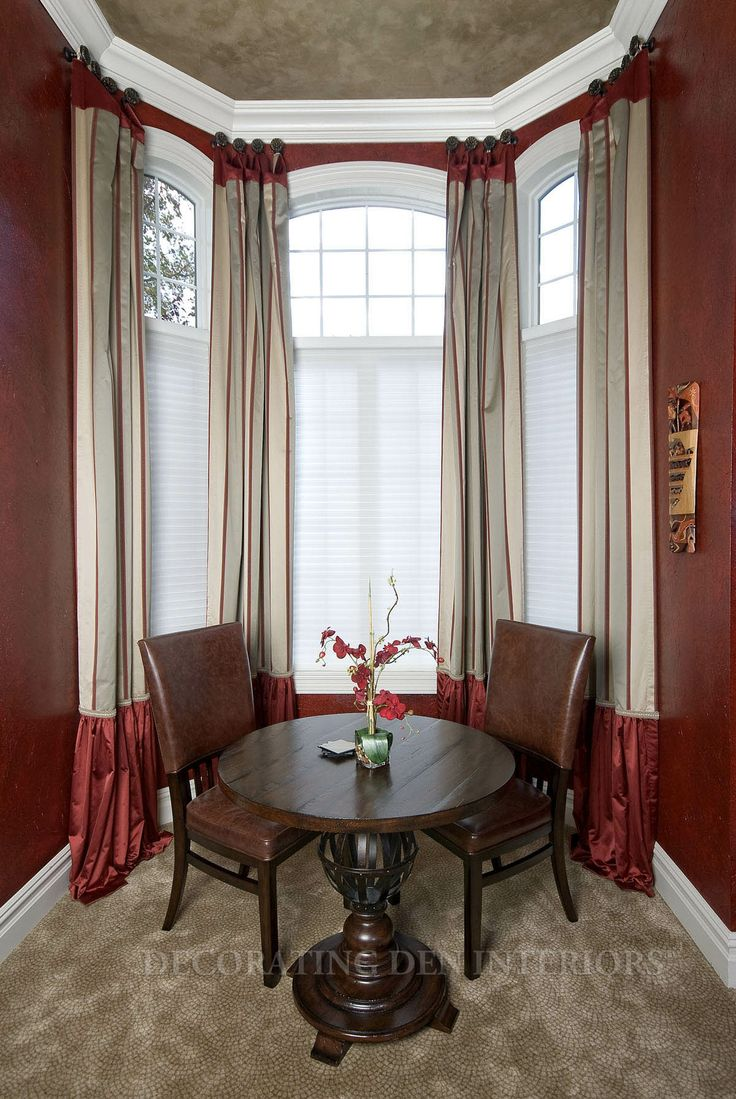 window treatments for bay windows 17 best images about bay window treatments on 13211