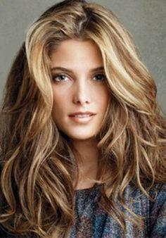 caramel blonde highlights on brown hair - Google Search