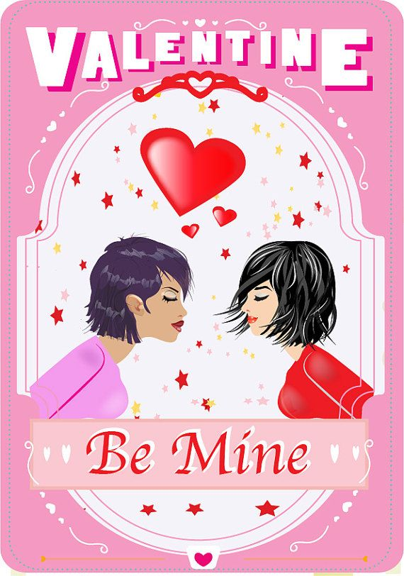 13 best Gay and Lesbian wedding Day Cards images – Lesbian Valentines Day Cards