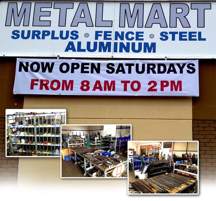 Sacramento Metal Supply | Metal Mart Servicing the Greater Sacramento Area