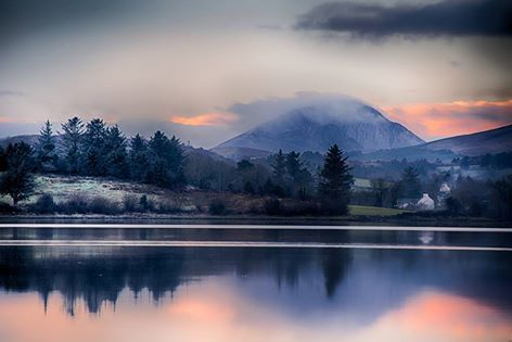 The beauty of Errigal at Dawn (Donegal).