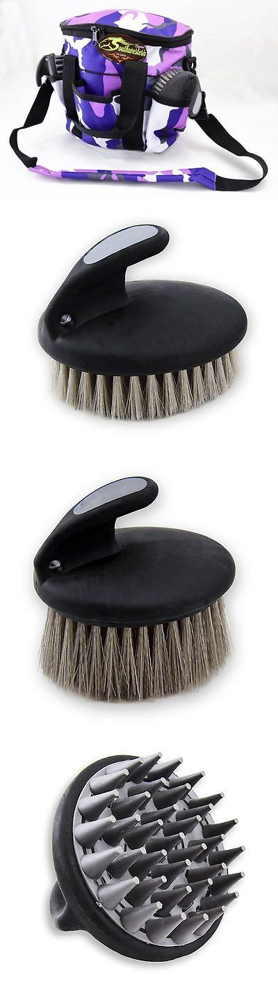Grooming Kits 183400: Deluxe Grooming Kit - By Southwestern Equine - Camo Purple -> BUY IT NOW ONLY: $44.99 on eBay!