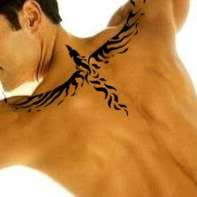 Upper back tattoos for men tribal | Art Images