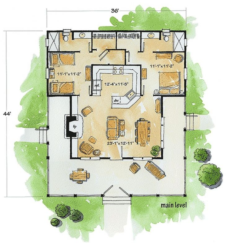 3033 best Fab Floor Plans images on Pinterest Small houses