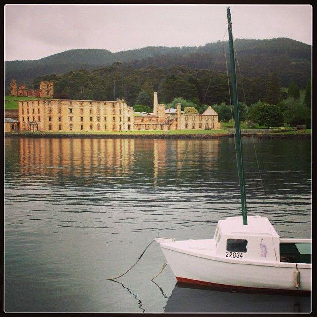 A tranquil morning at #portarthurtasmania