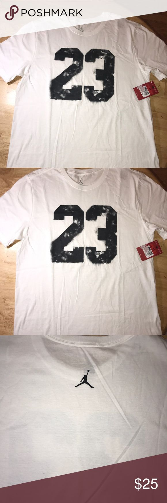 Men's Air Jordan tee Brand new with tags Air Jordan Shirts Tees - Short Sleeve