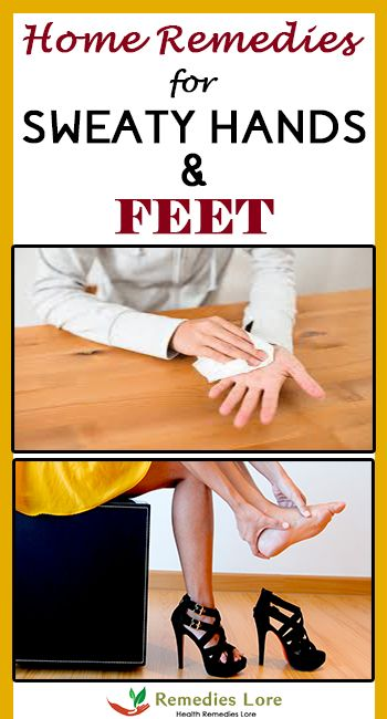 Home Remedies for Sweaty Hands and Feet #sweatyhands #sweatyfeet http://www.remedieslore.com/home-remedies-sweaty-hands-feet/