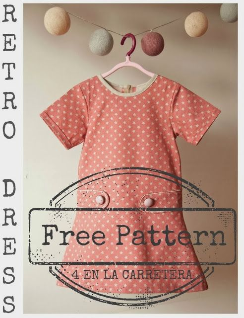 Dress Free Pattern by @K D Eustaquio Knochenmus Drown - 4 en la Carretera