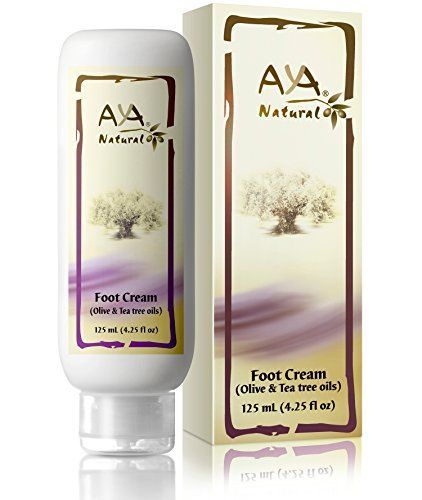 Natural Foot Cream for Cracked Feet  Vegan Premium Moisturizer for Dry Heels 425 oz  Shea Olive Jojoba and Tea Tree Oils Blend -- Details can be found by clicking on the image.