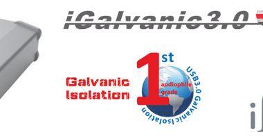 NEW IFI AUDIO IGALVANIC3.0 USB GALVANIC ISOLATION
