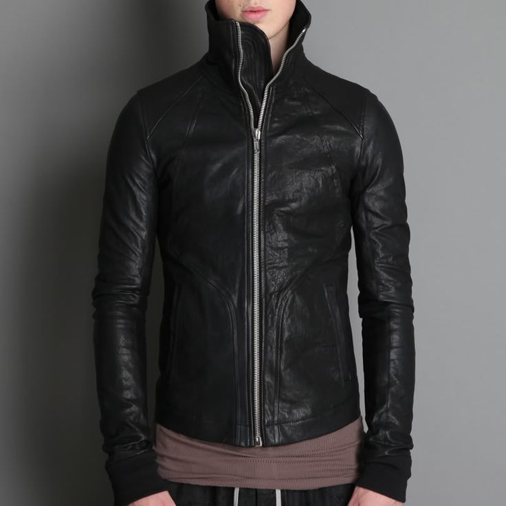 High neck intarsia...best RO leather. Can't wait to get one!