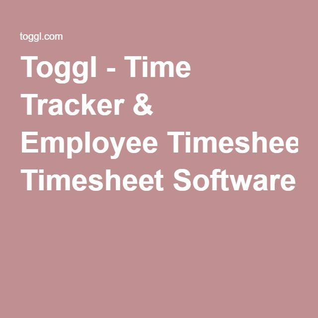 Best 25+ Timesheet software ideas on Pinterest Online timesheet - hourly timesheet calculator
