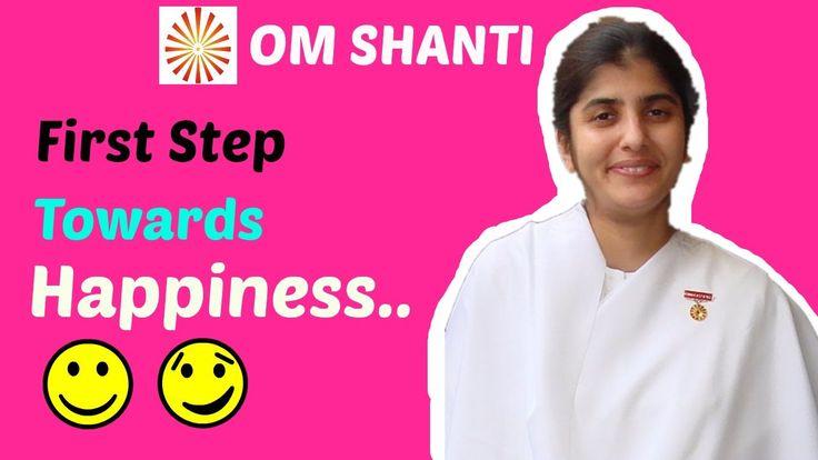 First Step Towards Happiness by Sister Shivani | Awakening with Bramha K...