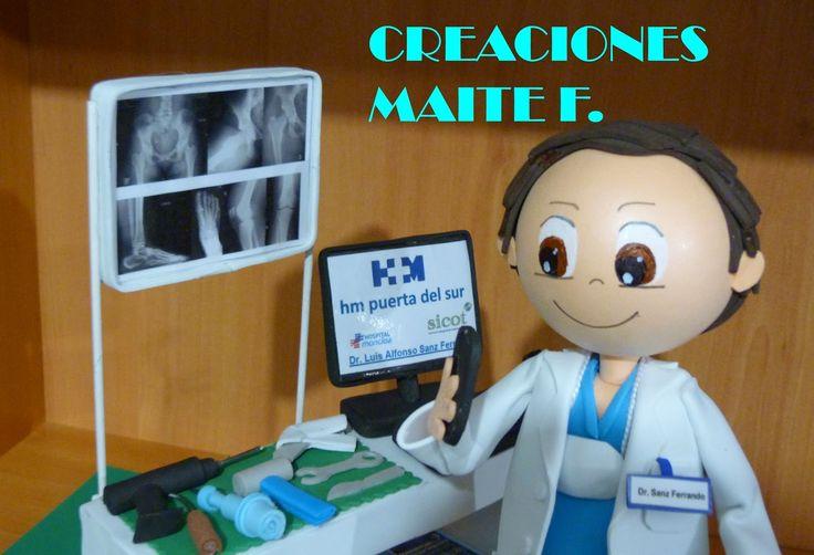 FOFUCHAS. Manualidades y Creaciones Maite: FOFUCHO MEDICO CIRUJANO TRAUMATOLOGO
