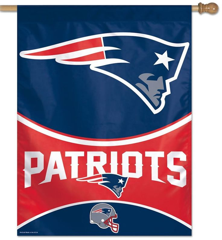 """New England Patriots 27""""x37"""" Banner (With images) New"""