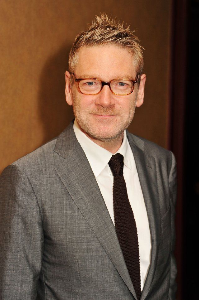 The handsome and charming Kenneth Branagh. Swoon.
