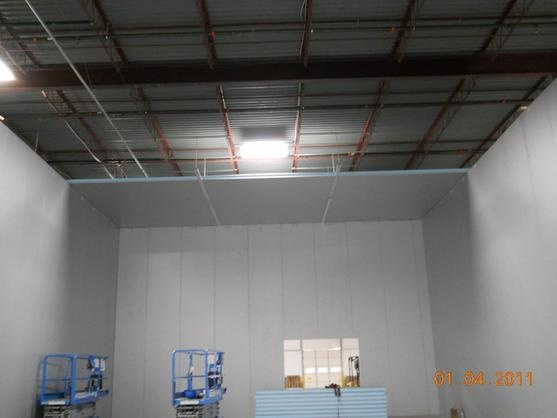 Warehouse Cold Storage Room Project Colorado Week 6