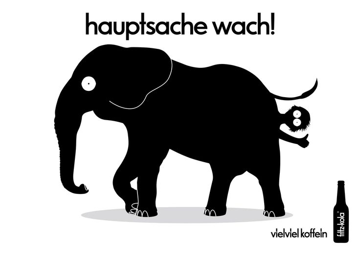 fritz-kola. Hauptsache Wach! Plakat-Kampagne