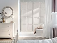 Bedroom Furniture - Beds, Mattresses & Inspiration - IKEA // this would be great for master closet