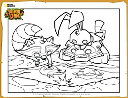Animal jam Tide pools and Free downloads on Pinterest