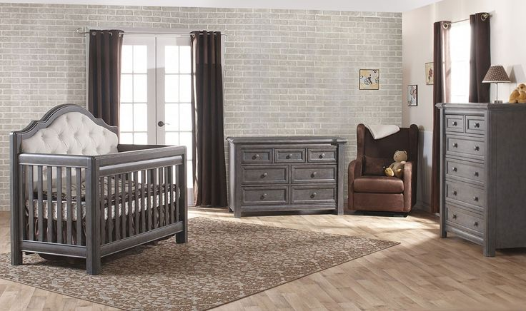 17 Best ideas about Grey Nursery Furniture on Pinterest