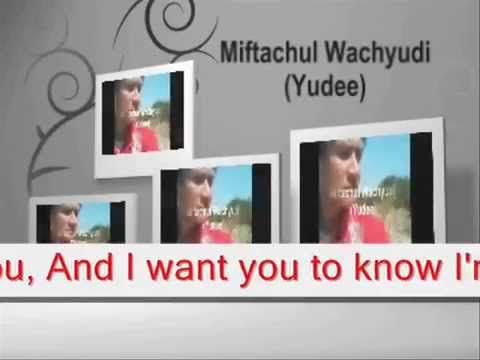 I've written you these love songs - Miftachul Wachyudi (Yudee)