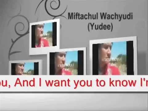 I've written you these love songs - Miftachul Wachyudi (Yudee)