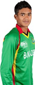 Taskin Ahmed   || Role: Bowler || Bats: LHB || Bowls: RFM || DOB: 03 Apr 1995 || Strong domestic performances were enough to see Taskin Ahmed return to the Bangladesh squad for the ICC Cricket World Cup after the quick missed the late-2014 series against Zimbabwe.