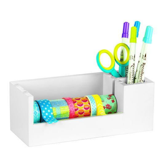 Washi Tape Dispenser with Bins by Recollections™