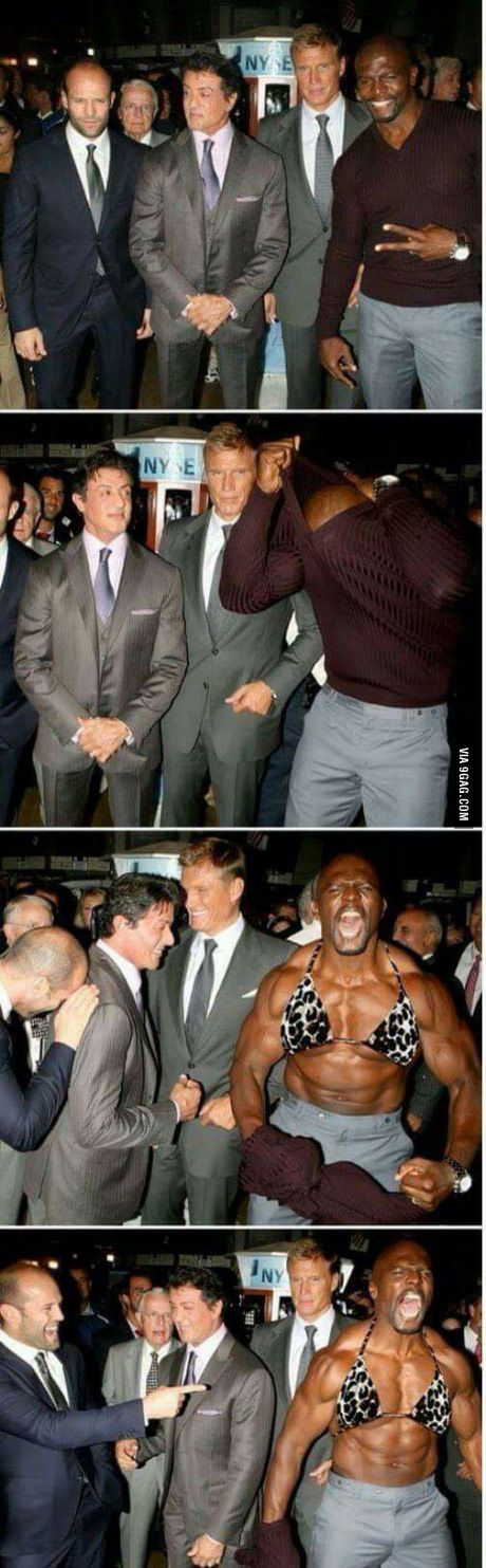 Terry Crews in a nutshell