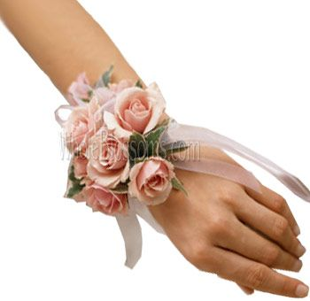 fresh wrist corsage - Google Search