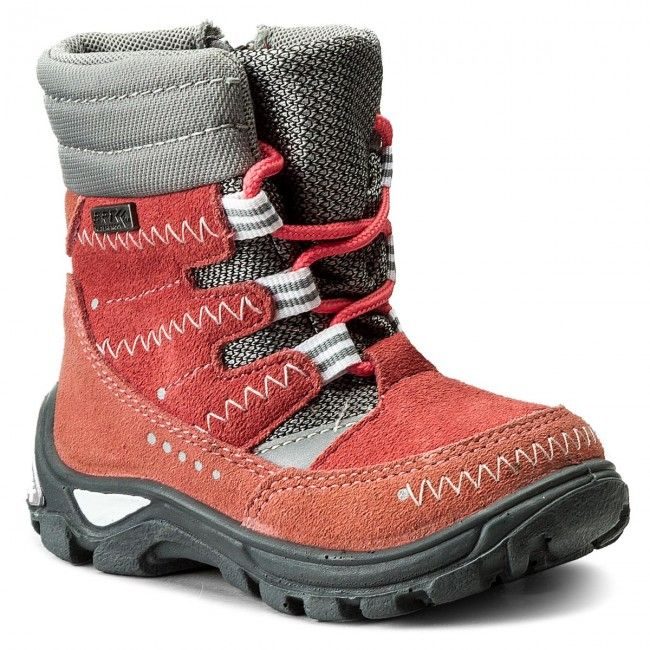 Sniegowce Bartek 21579 614x Szaro Rozowy Boots Shoes Winter Boot