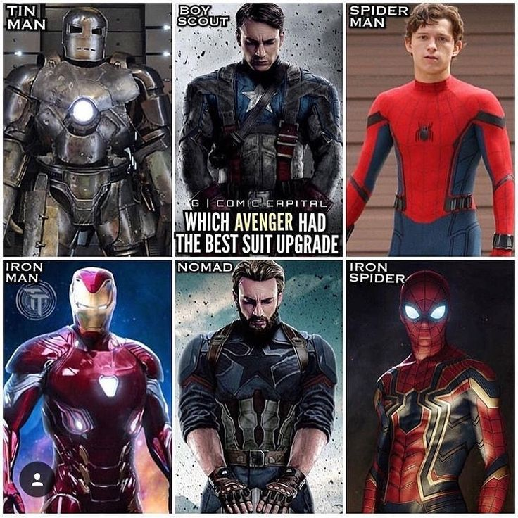 Who had the best one? Based on appearance.  Via @comic.capital  - - - - - - - - - [ ] Follow us for more! @spiderman.faninsta Double Tap & Tag a Friend  . . . Via @spidey.marvel…
