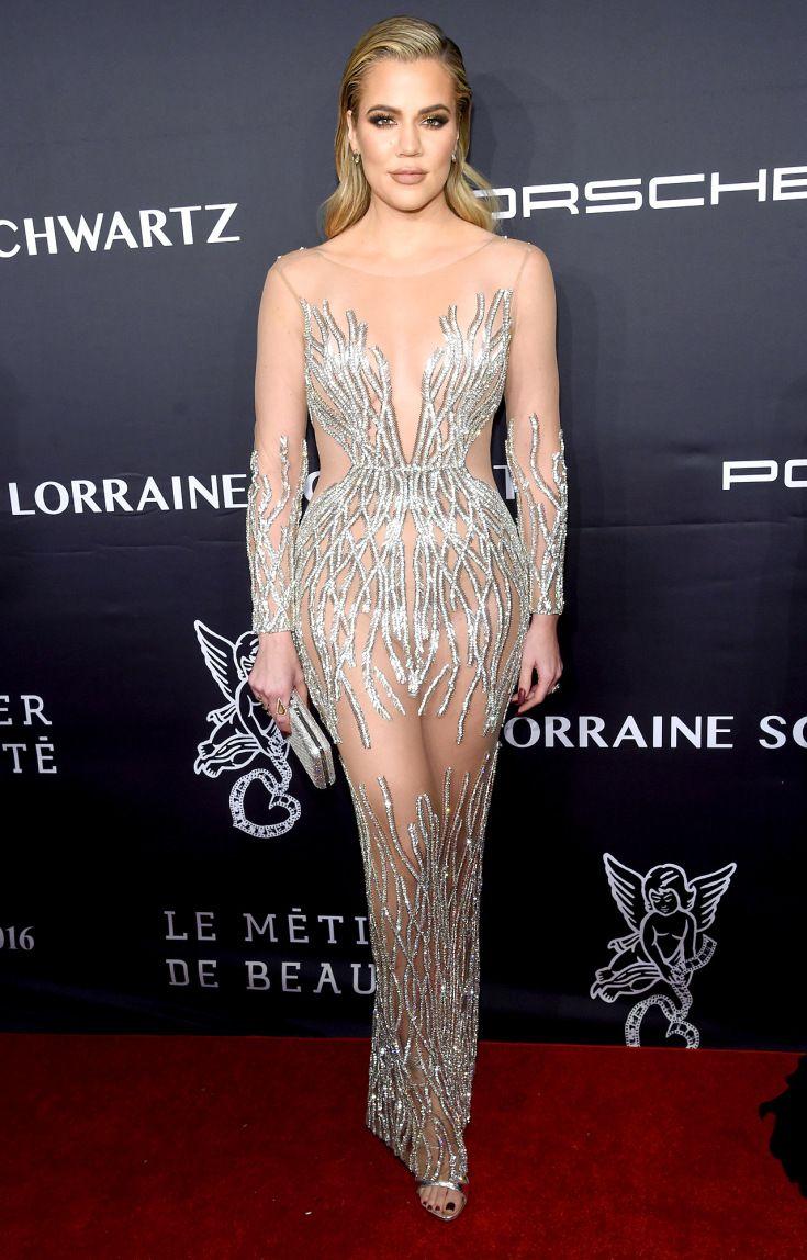 Khloe Kardashian in Yousef Al-Jasmi