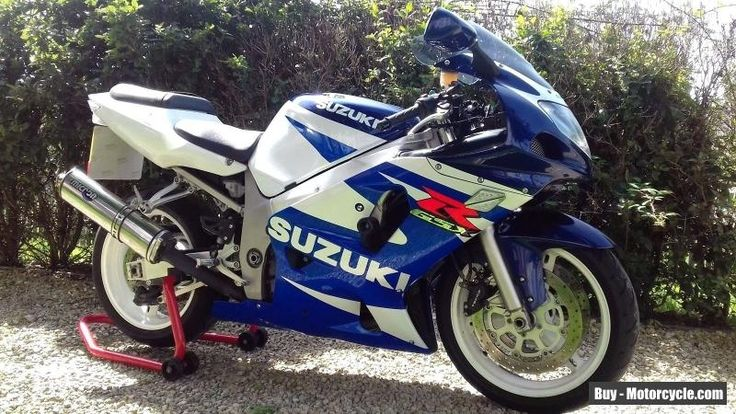 Suzuki 2001 (Y) GSXR 600 K1 GSX-R Gixxer Supersport Blue White Low Mileage Clean #suzuki #gsxr #forsale #unitedkingdom