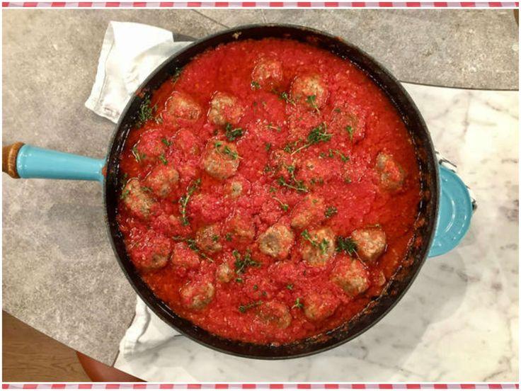 Albóndigas de cordero en salsa de tomate