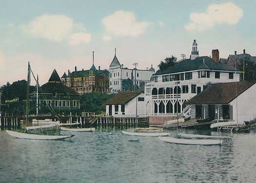 The Royal Cape Breton Yacht Club 1920's-A View From The Water http://capermemories.com