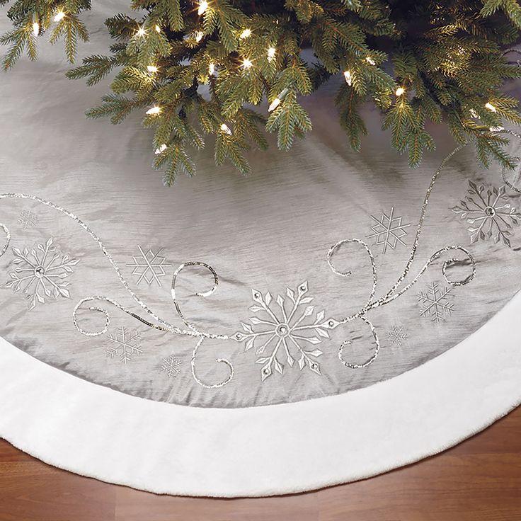 Christmas tree skirt (Silver) | Costco Mexico