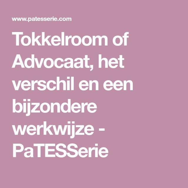 Tokkelroom of Advocaat, het verschil en een bijzondere werkwijze - PaTESSerie
