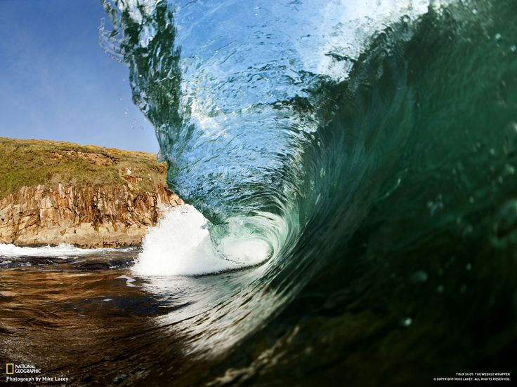 Cornwall wave, shot at Rinsey in early May 2012. by Mike Lacey