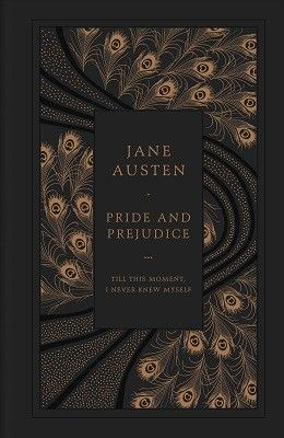 n.27€. Pride and Prejudice (Leather / fine binding) (Peacock editionin rinnalla varmaan upein näkemäni P&P:n kansi. Tämän jos saan, niin kiljun.)