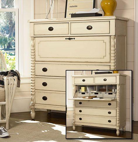 paula deen river boat white dressing chest - Paula Dean Furniture