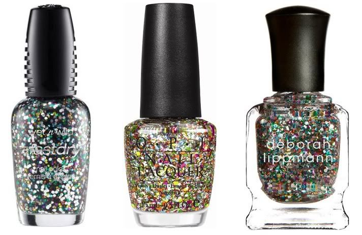 glitter and sparkles galore!