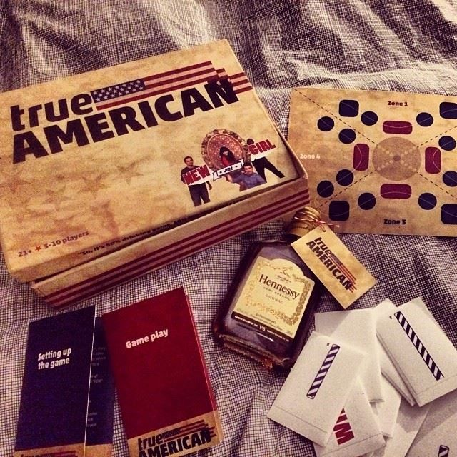 True American game from New Girl. Please tell me this is real and I can but it immediately.