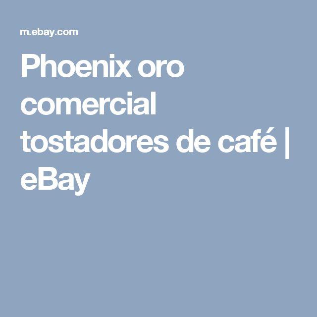 Phoenix oro comercial tostadores de café | eBay