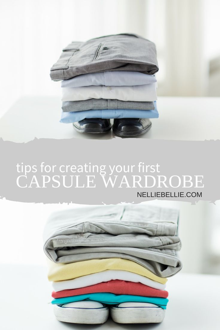 Thinking of creating your first capsule wardrobe then make sure you read these top tips first.