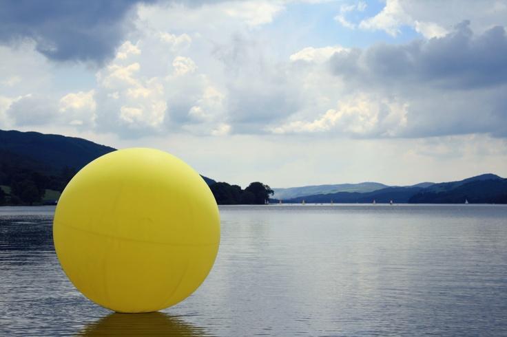 C-Art Cumbria Artist Open Studios 2012  - Coniston Water looking South
