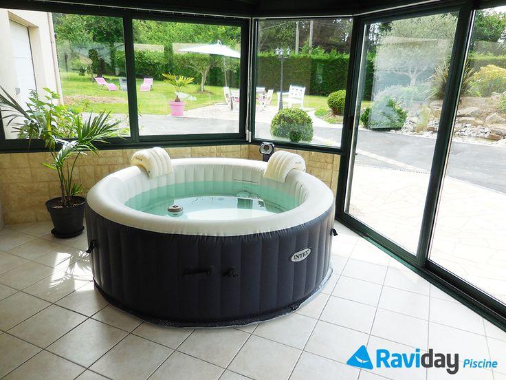 Où installer mon spa gonflable ? Trouvez l'inspiration ici avec plusieurs photos ! #spa #gonflable #intex #raviday #zen #terrasse #jardin